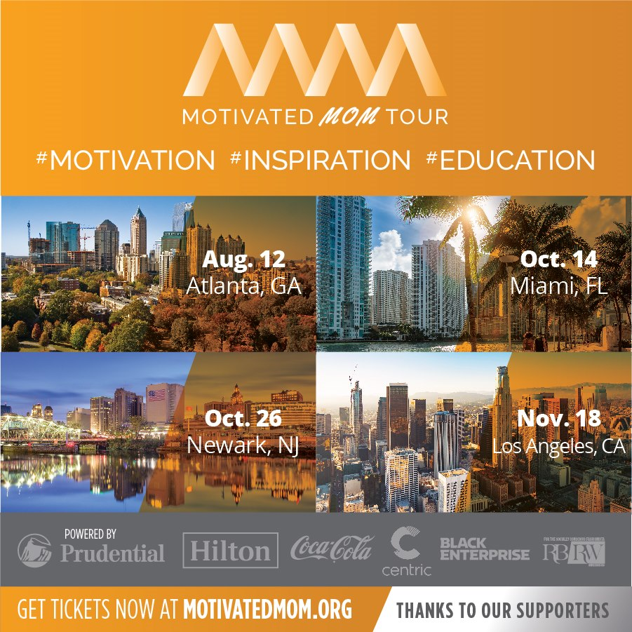 Motivated Mom Tour locations and dates