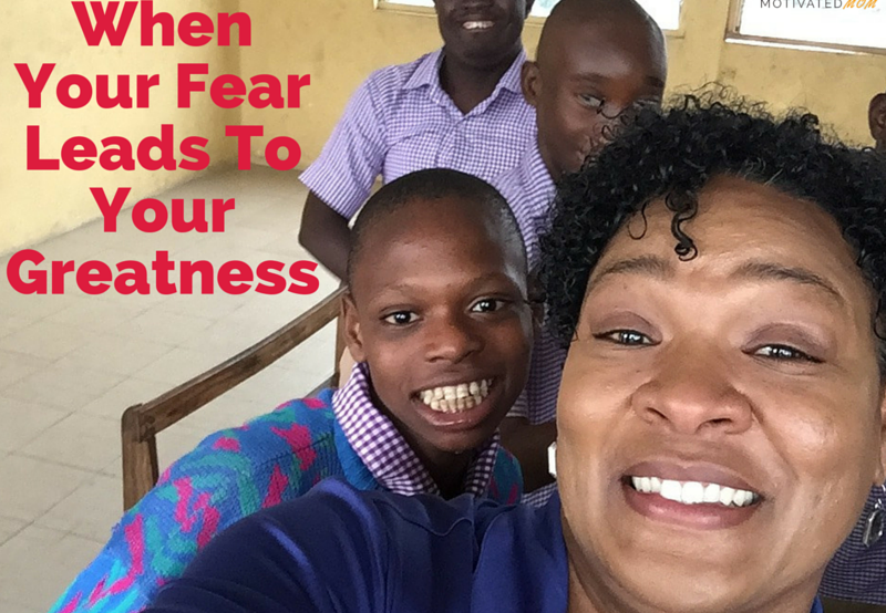 My trip to Nigeria gave me an opportunity to overcome my fear and meet great kids.