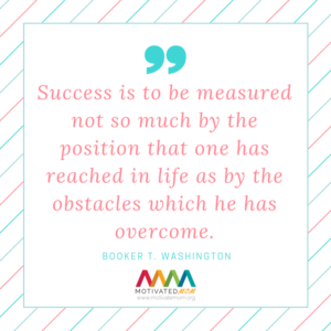 Success- is- to- be- measured- not- so- much -by- the- position- that- one -has- reached- in- life- photo