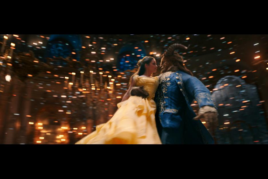 Belle dancing with the Beast