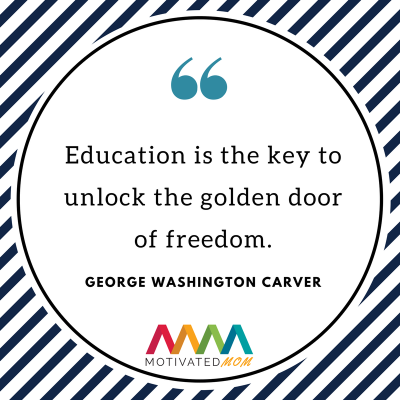 education-is-the-key=to-unlock-the-golden-door-of-freedom=by-George-Washington-carver