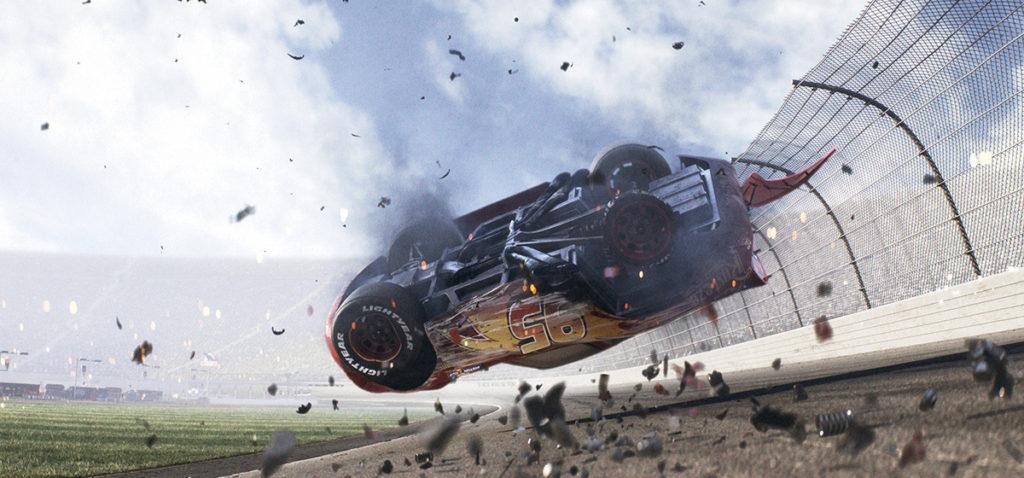 Cars 3 - Lightning McQueen Crash Scene