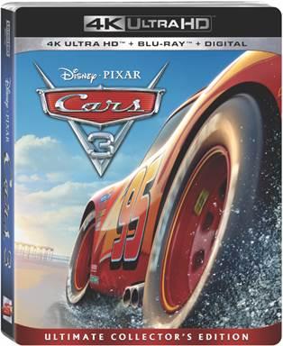 Cars 3 Ultra HD + Blu-Ray + Digital