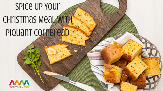Spice Up Your Christmas Meal With Piquant Cornbread